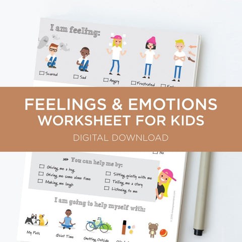 Feelings and Emotions Chart for Kids Download