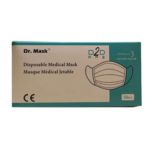 Load image into Gallery viewer, ASTM Level 3 Procedural Masks  - Dr. Mask for D2DPPE (50 pieces)