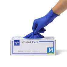Load image into Gallery viewer, Medline FitGuard Touch Nitrile Examination Gloves (3,000 pieces)