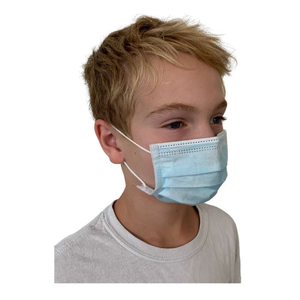 KIDS Back To School Special: 4 Sanitizers with Holders, Kids Disposable Face Masks (100 pieces)