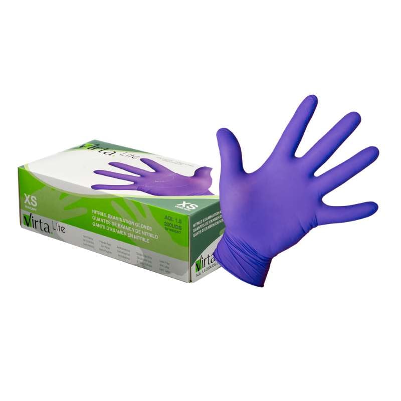 Virta Lite Nitrile Examination Gloves (2000 gloves)