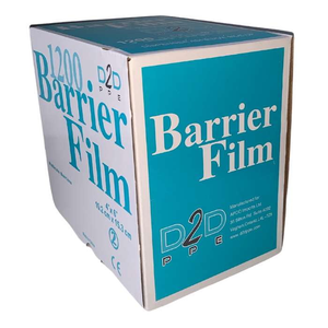 Barrier Film with Dispenser - CASE (6 Rolls/Boxes)