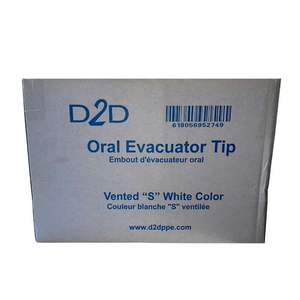 Oral Evacuator Tips (1,000 pieces)