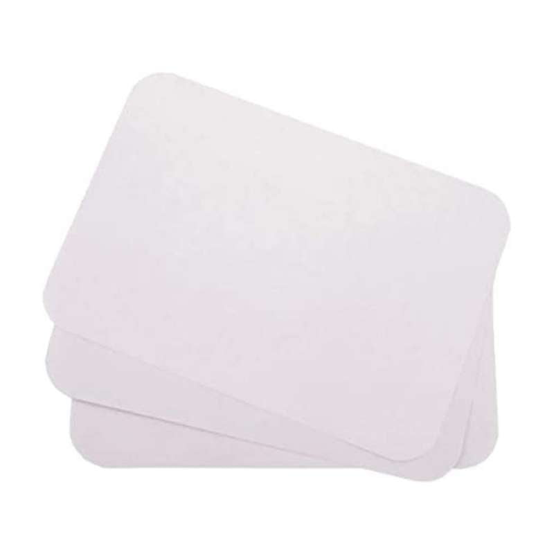 White Paper Tray Cover - CASE (1,000 Pieces)