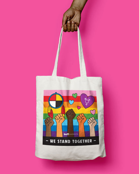 We Stand Together Tote Bag