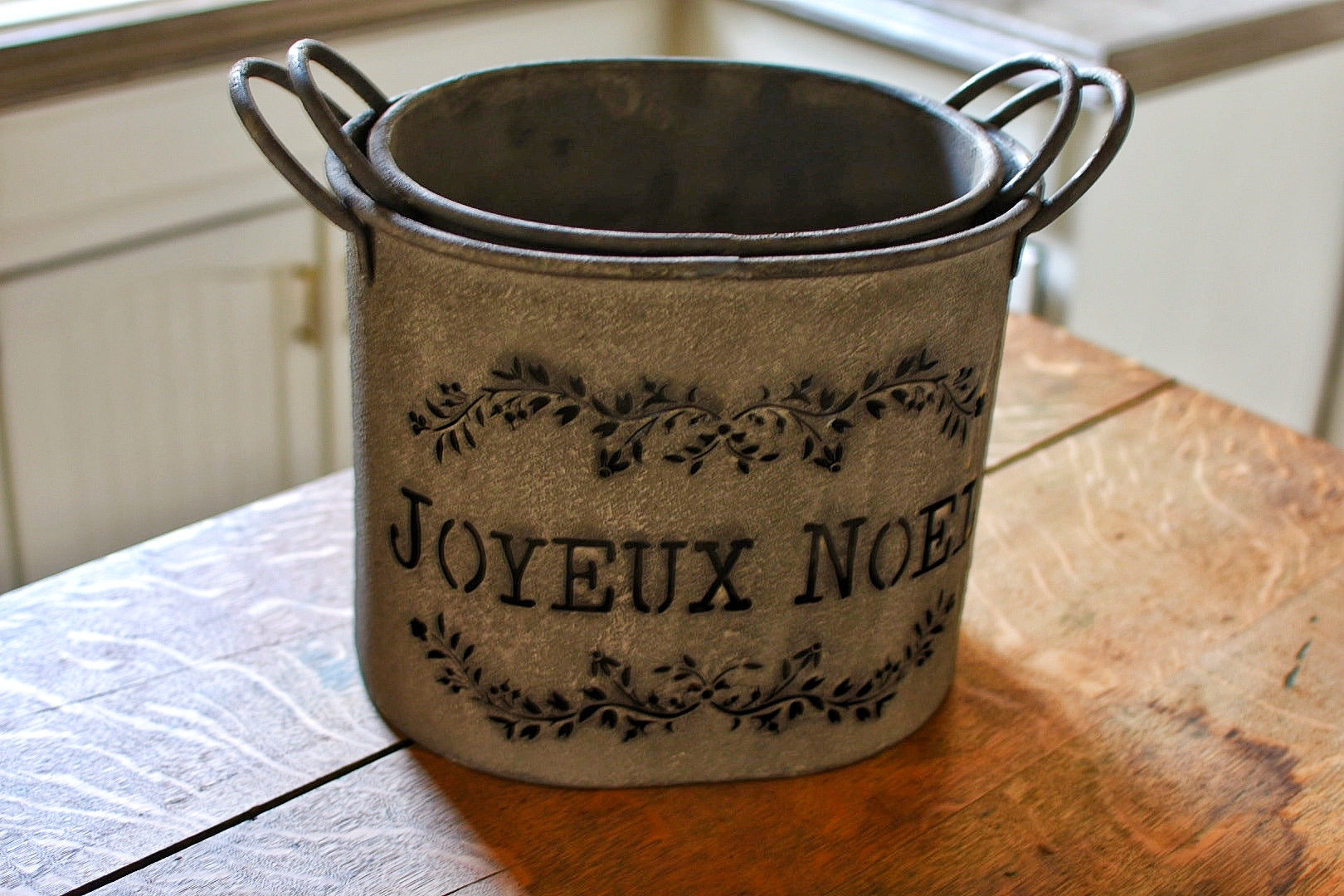 French Holiday Buckets