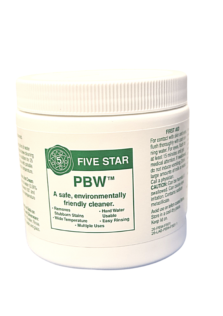 PBW- Buffered Alkaline Cleaner || 450 grams