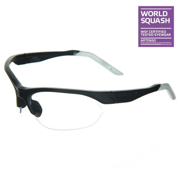 Wide Face Squash Glasses Size L