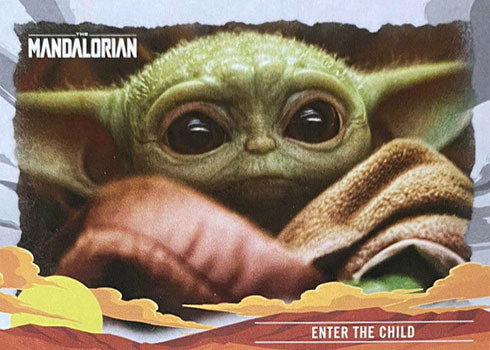 The Child (hint, it's Baby Yoda)