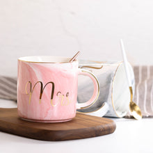 Load image into Gallery viewer, Marble Ceramic Coffee Mug 380ml