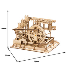 Load image into Gallery viewer, LG502 DIY Laser-Cut 3D Wooden COG Coaster Kit: Magic Crash