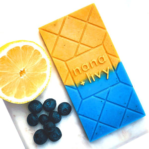 Blueberry Lemonade Choco Soap