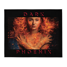 Load image into Gallery viewer, The Dark Phoenix Throw Blanket