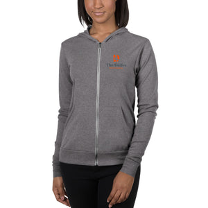 Unisex zip hoodie - The Dalles Dance Academy (without back logo)