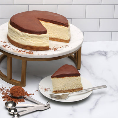 Milk Chocolate Ganache cheesecake