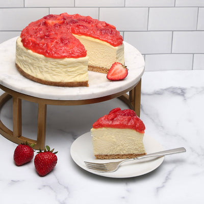 Strawberry Cloud Cheesecake