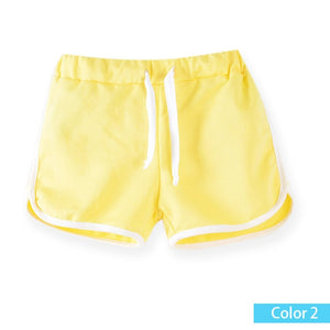 SheeCute kids clothing new  candy color girls short hot summer boys beach pants shorts 0902