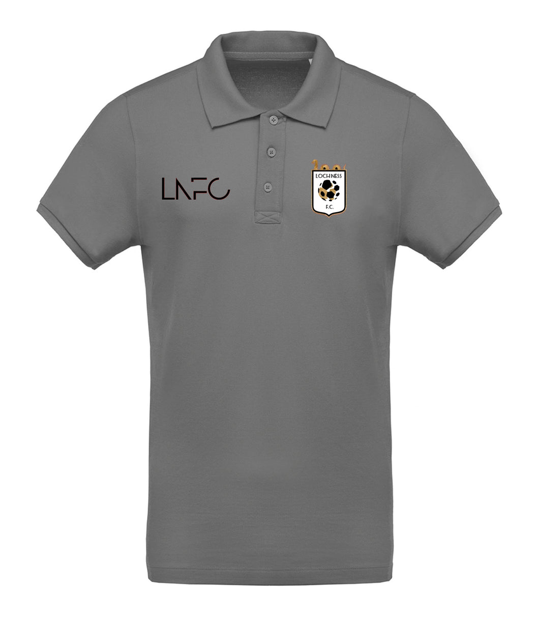 Loch Ness FC Polo Shirt - Grey