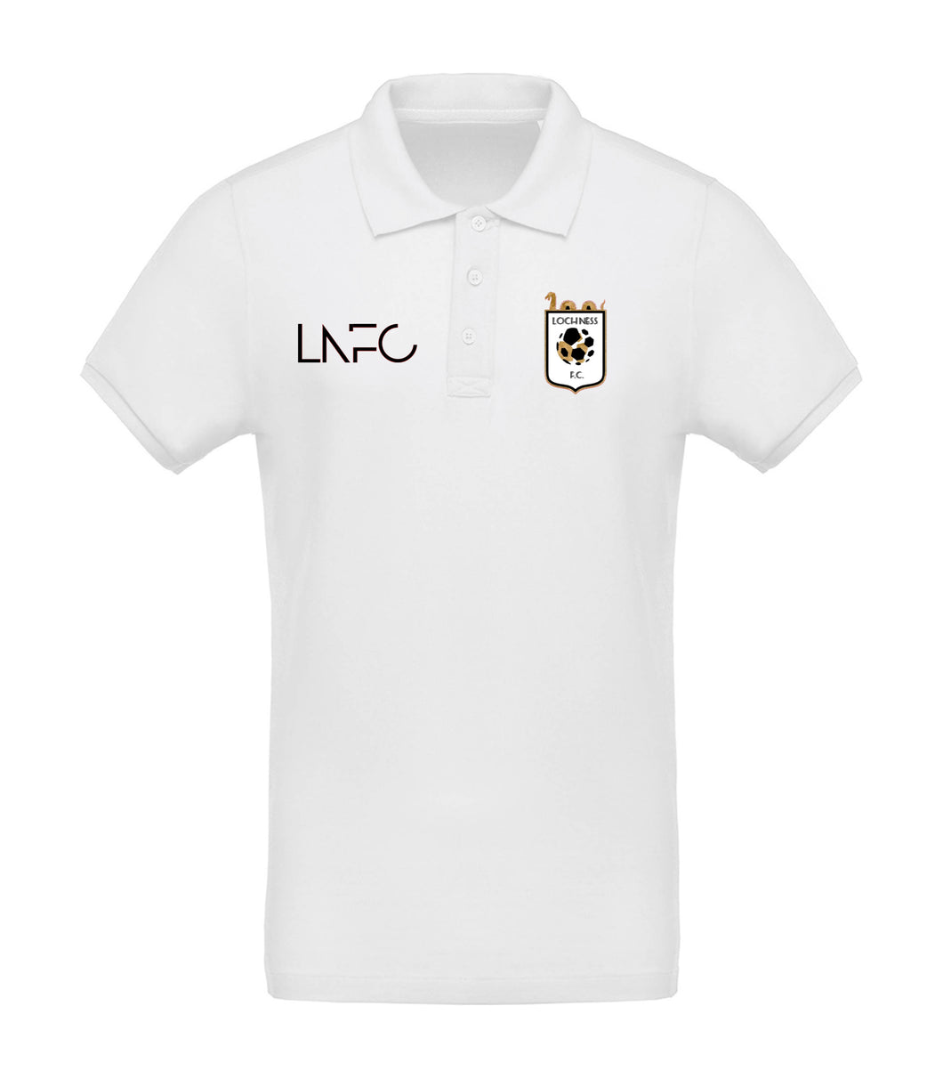 Loch Ness FC Polo Shirt - White