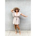 Lavender Washed Polo Neck Top