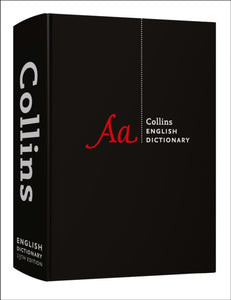 Collins English Dictionary Complete and Unabridged edition-9780008284374