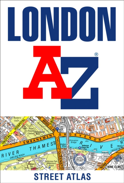 London A-Z Street Atlas-9780008387990