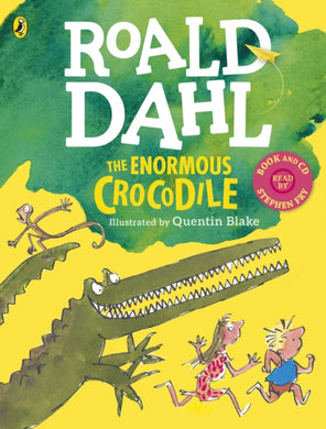 The Enormous Crocodile (Book and CD)-9780241344934