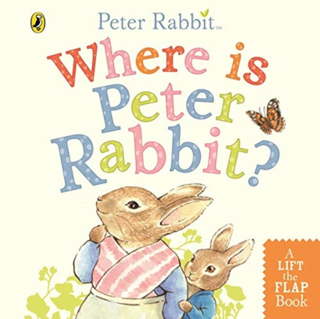 Where is Peter Rabbit?-9780241355039