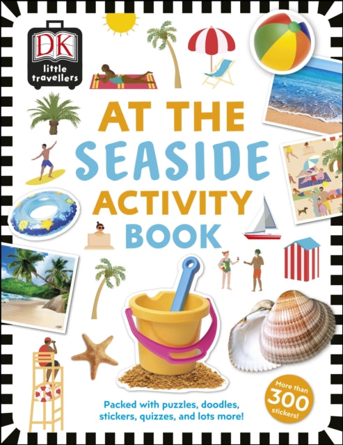 At the Seaside Activity Book : Includes more than 300 Stickers-9780241366936