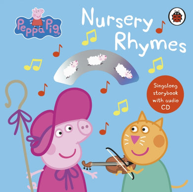Peppa Pig: Nursery Rhymes : Singalong Storybook with Audio CD-9780241371626