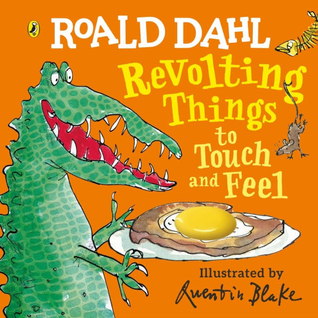 Roald Dahl: Revolting Things to Touch and Feel-9780241373415