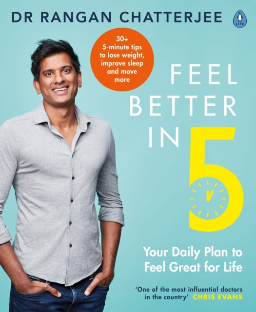 Feel Better In 5 : Your Daily Plan to Feel Great for Life-9780241397800