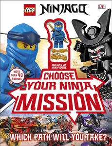 LEGO NINJAGO Choose Your Ninja Mission : With NINJAGO Jay minifigure-9780241401279