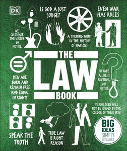 The Law Book : Big Ideas Simply Explained-9780241410196