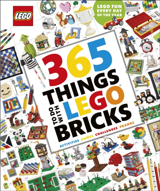 365 Things to Do with LEGO (R) Bricks-9780241427989