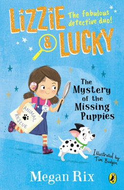Lizzie and Lucky: The Mystery of the Missing Puppies-9780241455517