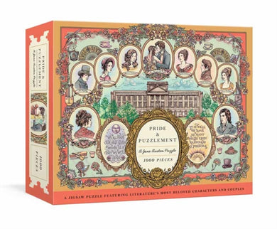 Pride and Puzzlement: A Jane Austen Puzzle : A 1000-Piece Jigsaw Puzzle Featuring Literature's Most Beloved Characters and Subtitle change: Couples: Jigsaw Puzzles for Adults-9780593137642
