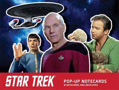 Star Trek Pop-Up Notecards : 10 Notecards and Envelopes-9780762494408