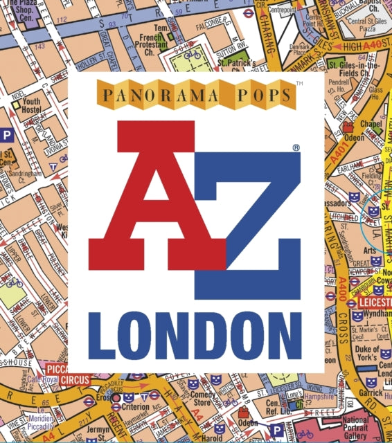 A-Z London: Panorama Pops-9781406380675
