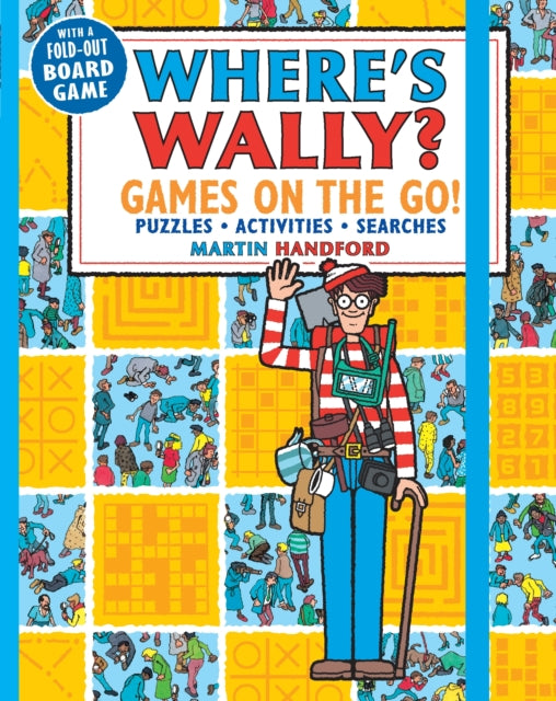 Where's Wally? Games on the Go! Puzzles, Activities & Searches-9781406381184