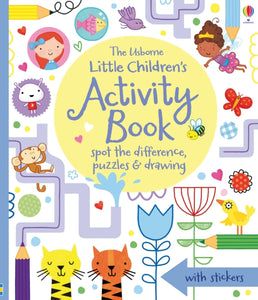 Little Children's Activity Book Spot the Difference, Puzzles and Drawing-9781409586555