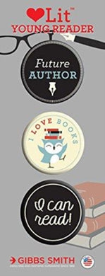 Young Reader 3 Badge Set-9781423649731