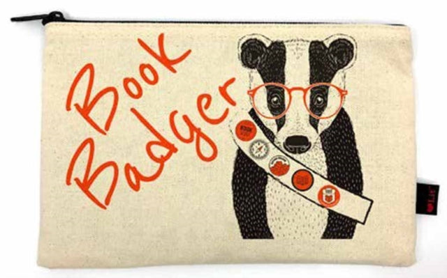 Book Badger Pencil Pouch-9781423653066