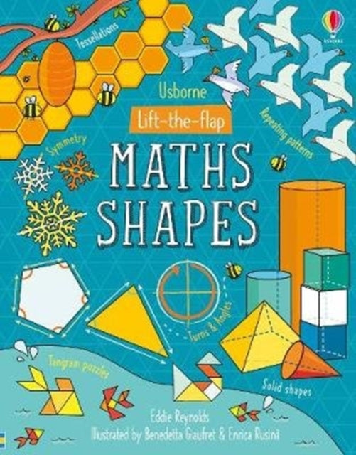 Lift-the-Flap Maths Shapes-9781474950756