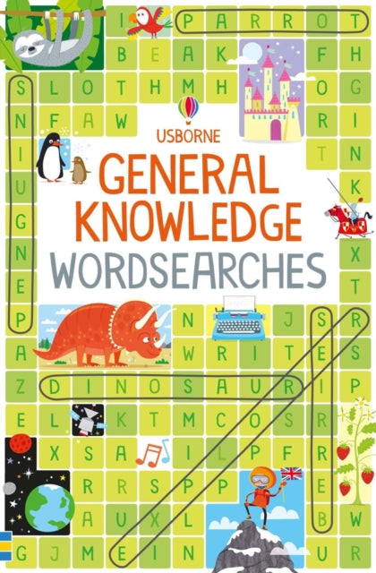 General Knowledge Wordsearches-9781474952644