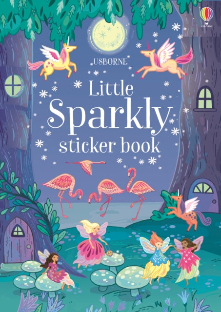 Little Sparkly Sticker Book-9781474953733