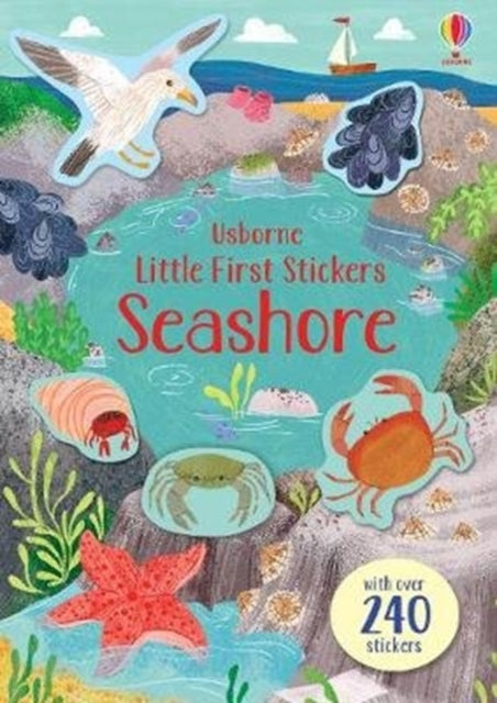 Little First Stickers Seashore-9781474968225