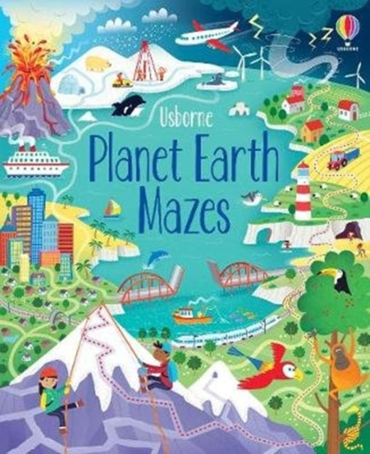Planet Earth Mazes-9781474971607