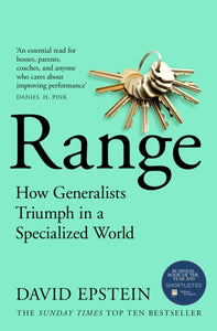 Range : How Generalists Triumph in a Specialized World-9781509843527
