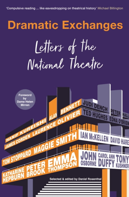 Dramatic Exchanges : Letters of the National Theatre-9781781259368